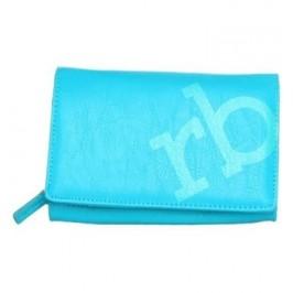 Peněženka Roccobarocco RBPS80C41_TURCHESE - modrá