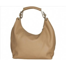 Kabelka Made in Italy CAPRI_TAUPE