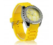 Hodinky LS Fashion LSW003-YELLOW