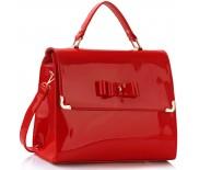 Kabelka LS Fashion LS00264 - červená