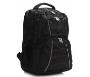 Školní batoh LS Fashion LS00444 - černý