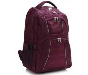 Školní batoh LS Fashion LS00444 - vínový