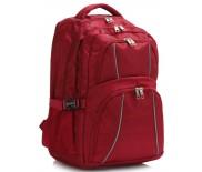 Školní batoh LS Fashion LS00444 - červený
