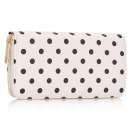 Peněženka LS Fashion LSP1048 bílá